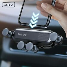 INIU Gravity Car Holder For Phone in Car Air Vent Clip Mount  Mobile Best Offer