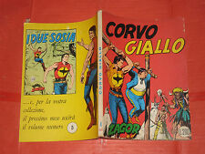 ZAGOR- NO ZENITH- N°4 -d-originale DA LIRE 200 -1970 **NOME ROSSO-GALLIENO FERRI