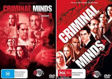 Criminal Minds Season 3 & 4 : NEW (12 Disc) DVD