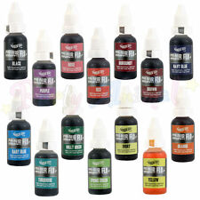 Rainbow Dust Colour Flo Liquid Airbrush Edible Food Colours for cake decoration