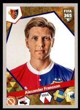 Panini FIFA 365 (2018) - Alexander Fransson FC Basel 1893 No. 490