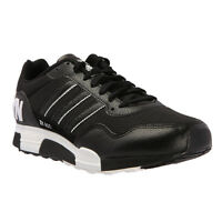 Mens ADIDAS ORIGINALS ZX 900 Brooklyn Black Leather Trainers D65721 RRP £74.99