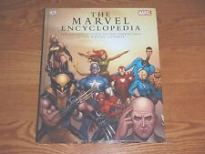 The Marvel Comics Encyclopedia guide to the characters of the marvel Universe