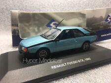 SOLIDO 1/43 Renault Fuego Coupè 1982 Light Blue Art. 4302800