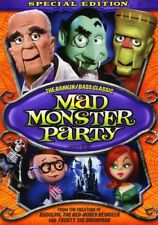 Mad Monster Party [New DVD] Full Frame, Special Edition, Dolby, O-Card Packagi