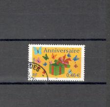 FRANCIA 3480 - AUGURI, BUON COMPLEANNO  2002 - MAZZETTA DI 10 - VEDI FOTO