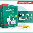 Kaspersky Internet Security 2021 (1, 2, 3, 5, 10 PC / Geräte) 1 / 2 Jahre <br/> Mit Sicherheit - PASSWARD. Sofortversand per E-Mail
