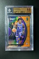 💎High End💎 De'AARON FOX 2017-18 Panini Select Orange Prizm /75 BGS 9.5 RC