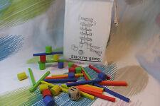 Kaper Kidz Children's Wooden Stick Tower Balancing Game Toy! Balance the Pieces!