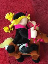 Horse & Rider  Hand Puppet Soft Toy by Fiesta Crafts  30cm High