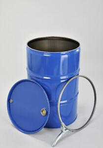 Blue Steel Drum 210L