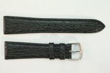Clip-Band JACQUES LEMANS Original Ersatzband 20mm Schwarz Leder für feste Stege