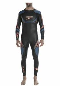 New SPEEDO Small Mens Fastskin Xenon Thin Swim Swimming Full Sleeve Wetsuit