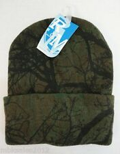 Bulk lot of 48 Hardwoods Tree Camoflauge Camo Winter Knit Toboggan Hat
