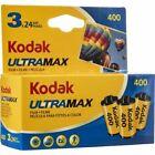 Kodak UltraMax 400 24 Exp 35mm Color Film - 3 Pack