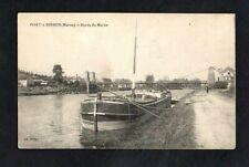 CPA PORT-à-BINSON - Bords de la Marne