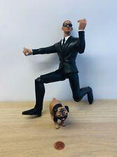 "Men In Black 2 Talking Agent Jay 11"" Figure w/ Frank The Pug Dog. Sound/Light"