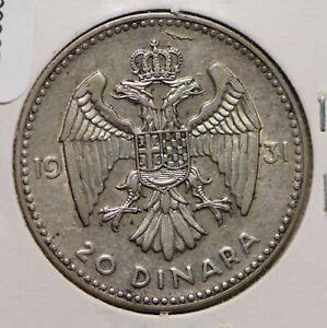 Yugoslavia 1931 20 Dinara  292054 combine shipping