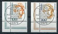 Bund 1955 - 1956 gestempelt Eckrand zentrischer Vollstempel ESST Berlin BRD