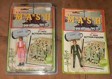 Vintage TV MASH Action Figures UNOPENED Normal & Rare Pink KLINGER   ODD HOLDER