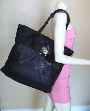 Stunning Susan Riedweg Black Leather Patchwork Handbag Satchel