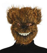 Terror Asesino Oso De Peluche Máscara Peludo Disfraz Halloween Masque NUEVO