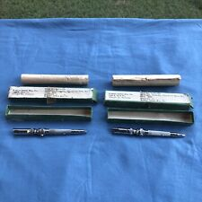 Vintage Midwest Dental Straight Handpiece No 7 Lot Of 2 As Is Rare Tools Boxed