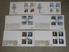 Great Britain FDC`s-3 Sets, Flowers, British Architects, British Theatre