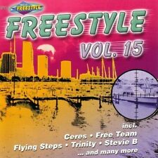 Freestyle 15 (2001) Trinity, Johnny O, Lil' Suzy, Free Team, Flying Steps.. [CD]