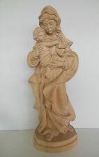 Madonna, Mutter Gottes ca. 62 cm hoch Holz natur Nr. 2 Sonderpreis wegen Äste