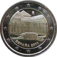 Pièces euro d'Espagne pour 2 euro année 2011