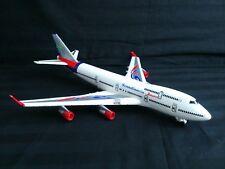Airplane Scandinavia Tours toy w. sound( Captain´s voice).Friction wheels.38 cm