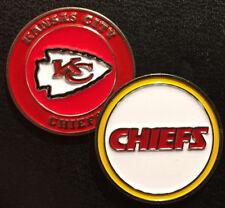 Licensed Official NFL Kansas City Chiefs Golf Ball Marker + Free Bonus
