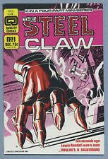 Steel Claw #1 (Dec 1986, Quality Comics) H. Ken Bulmer Jesus Blasco
