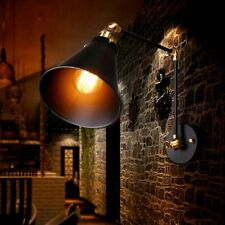 Retro Vintage Industrial Swing Arm Wall Sconce Adjustable Light Wall Lamp Decor
