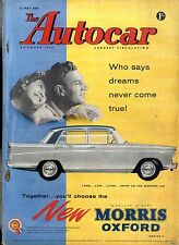 AUTOCAR MAGAZINE 1959-22/5 AUTO UNION 1000 ROAD TEST - LOS ANGELES AUTO TERMINAL