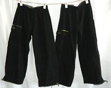 Boys Xs Dickies Lot Of 2 Cargo Pants With Leg Ties Black With Camo Trim
