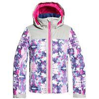 Roxy Girls Delski Girl Jacket, Ski Snowboard Winter Jacket, Size XL (14 Girls)