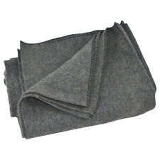 Large Gray Wool Army/Military Type Blanket Surplus Style Emergency Survival Gear