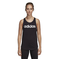 Adidas Women Essentials Linear Tank Top Workout Training Logo New DU7003