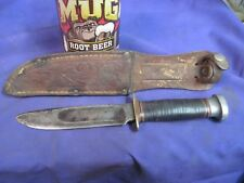 Vintage MARBLES Gladstone MICH Carbon Steel Hunting/Fighting Knife ORIGINAL