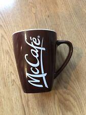 McDonald's McCafe Coffee Mug Dark Brown Limited Edition 2014 001 Ceramic