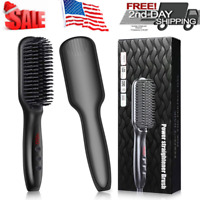 Beard Straightener Brush For Men, Ionic Hair Straightening And Home Travel USA