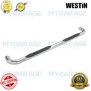 "Westin For 02-06 GMC Envoy E-Series Round Nerf Bars 3""Polished Stainless 23-2130"