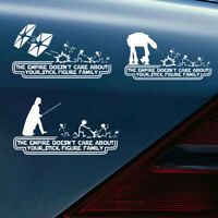 1Pc Car Empire Star War Vinyl Decal Sticker Funny Car Truck Window Accessories G