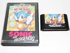 Sonic the Hedgehog (Sega Genesis 1991) No Manual, GC, Cleaned & Tested