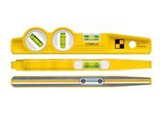 Stabila 81SV REM W45 Rare Earth Magnetic Boat Torpedo Spiri Level 25cm Fixed