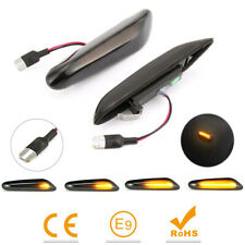 For BMW 1 3 5 E90 E46 E60 X1 X5 X3 Dynamic LED Repeater Side Indicator Flasher