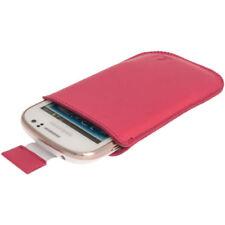 Carcasas de color principal rosa de piel para teléfonos móviles y PDAs