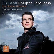 NEW J.C. Bach: La Dolce Fiamma- Forgotten castrato arias (Audio CD)